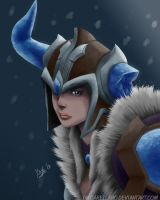 Sejuani Portrait by YayoArellano