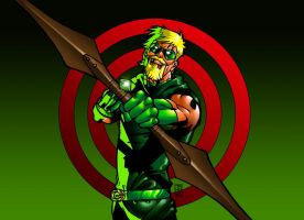 Green Arrow - Series II by HectorBarrientos