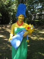 Marge Simpson by Yonka-Two