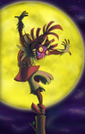 Skull Kid - Another night by Flying-pen