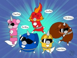 Pupster Sentai RainBowWow by -coldfusion-