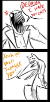 Zacharie crosses the terrible pun line once more by Andromedah-Sparkwing