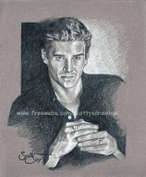 David Boreanaz as Angel by scotty309