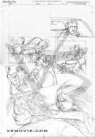 VS page 4 pencils by Maxahiss