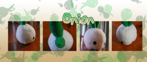 Onion plush by binoftrash