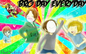 PewdieCry: Bro Day Everyday by ThatNekohacker