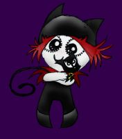 Gloom Kitty by MysticM