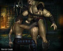 Goro Gets Caged by Jill-Valentine666