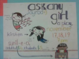 Ask Any Girl Poster, Chibis. by InsanePaintStripes