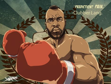 Clubber Lang by johnnymorbius