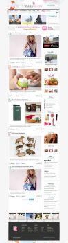 DailyCandy Redesign Proposal by manya