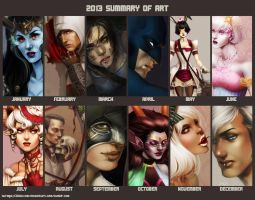 2013 summary of art by kurimja