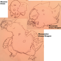 Pseudo-legendary pokemon idea by slickedbackArtisan