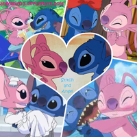 Stitch x Angel by Angelgirl10