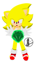 Super Sonic by elisonic12