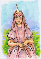 Princess Bubblegum by Chashirskiy