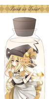 - Witch In A Bottle - by Cquora