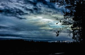 Estonian evening sky. by SCHTARKs-FOTO