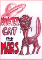 MONSTER CAT FROM MARS ! by Glamvampyre