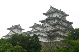Japanese Castle by Ohanzee