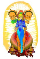 Holy Samus by zoesaday