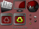 Haemo Desktop Icons by oddbasket