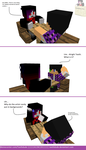 Breaking the Fourth Wall in the first comic by Teethdude