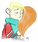 Hug Goodbye:my colored version by Anime-Apothecary
