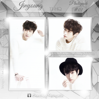 +JINYOUNG | Photopack #OO1 by AsianEditions