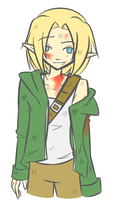 Post-Apocalyptic Link by Ask-Link