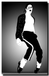 Michael Jackson, The Thriller by PublicSecrecy