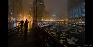 Chicago December 2013 by Tomoji-ized