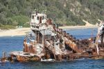 Sunken Wrecks at the resort by tweedale23