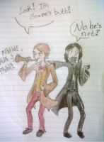 Snape is a BUTT TRUMPET by StrawberrySixicorn