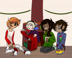 happy holidays [homestuck] by gener-8