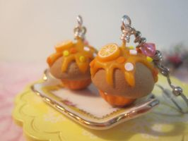 Orange Cupcake by CandyChick