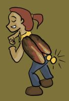 Day 13 - Bug Girl by Shadowed-Serenity