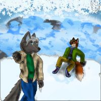 -GIFT- Tundra Christmas by Fox-Superior