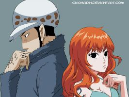 Fa Nami x Law by manga One piece by ciaonaidin