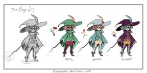 LilMage Color Palettes by DreamerWhit