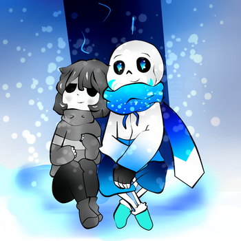 ice and core chara by floreley