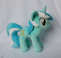 My Little Pony Lyra Heartstrings Plush by Rainbow-Kite