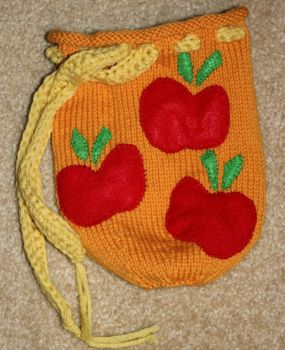 Applejack Dice Bag by SweetNerdyCakes