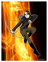 Katniss by spicemaster