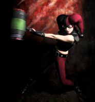 Harley Quinn Assault On Arkham by Grecia Villar by PrincessOfCrime
