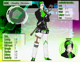 ::Doubly_Devious:: - Mystic Domain Gamer by AcerbusKeeper