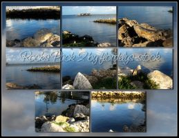 Rocks Pack 2 by flordelys-stock