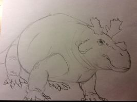 The Crowned Crocodile... Hippo... Thing... by Dinomaster337