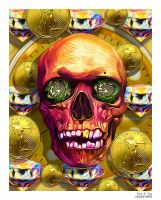 Treasure Skull by eccoarts