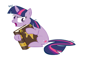 this is my book and I'M GOING TO READ IT vector by shadowandtwilight